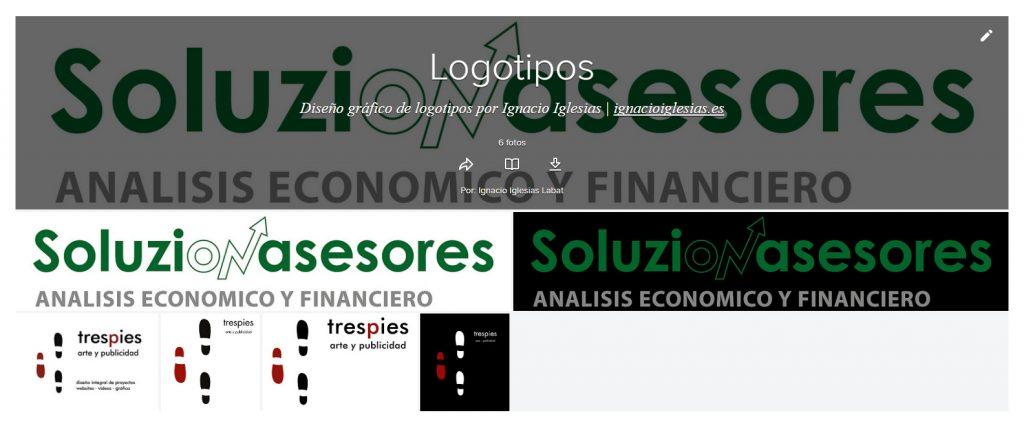 Portada de Álbum flickr Logotipos - portfolio