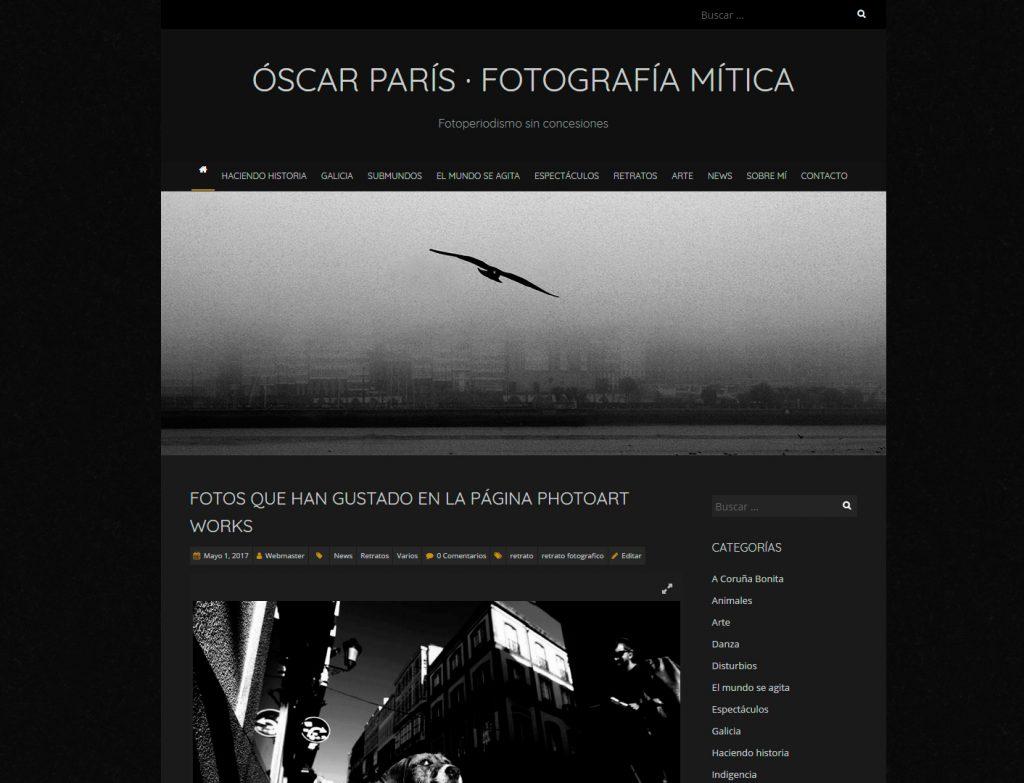 web Óscar París